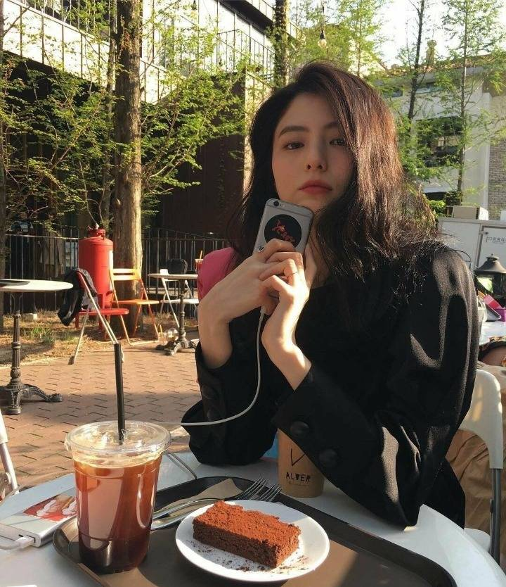 여친짤 장인 배우 한소희의 여친짤.jpg | 인스티즈