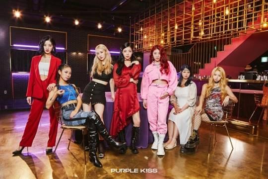 26일(목), 퍼플키스(PURPLE KISS) 데뷔 디지털 싱글 'My Heart Skip a Beat' 발매 | 인스티즈