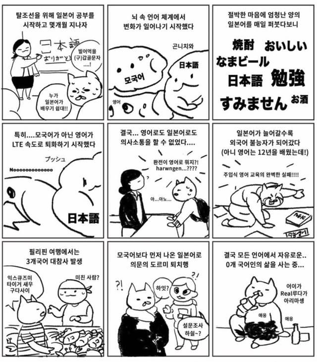 0개국어 하는 만화.Manhwa | 인스티즈