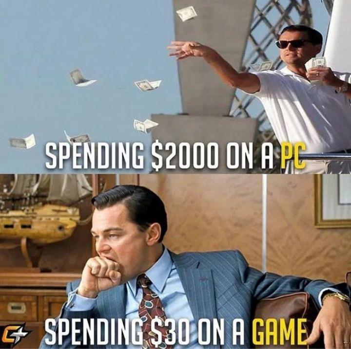 컴퓨터 살때와 게임 살때.jpg | 인스티즈