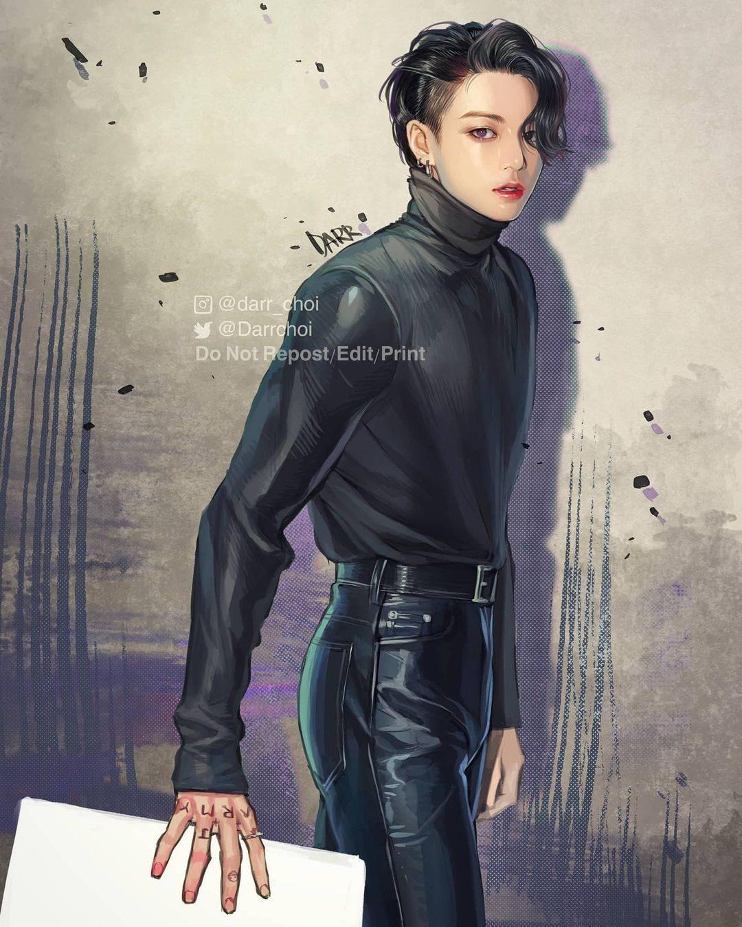 현재 방탄소년단 팬아터로 활동중인 소설 트와일라잇 일러스트레이터.jpg | 인스티즈