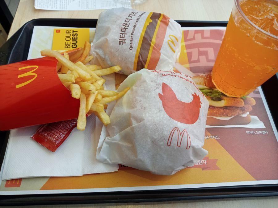 맥도날드 상하이 스파이스 버거 근황.jpg | 인스티즈