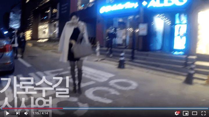 뉴욕 vs 서울 길거리 성희롱 비교실험.jpg | 인스티즈