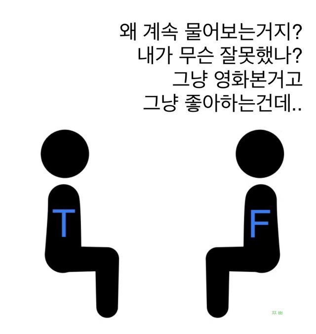 MBTI T와 F의 어긋난 관심표현 | 인스티즈