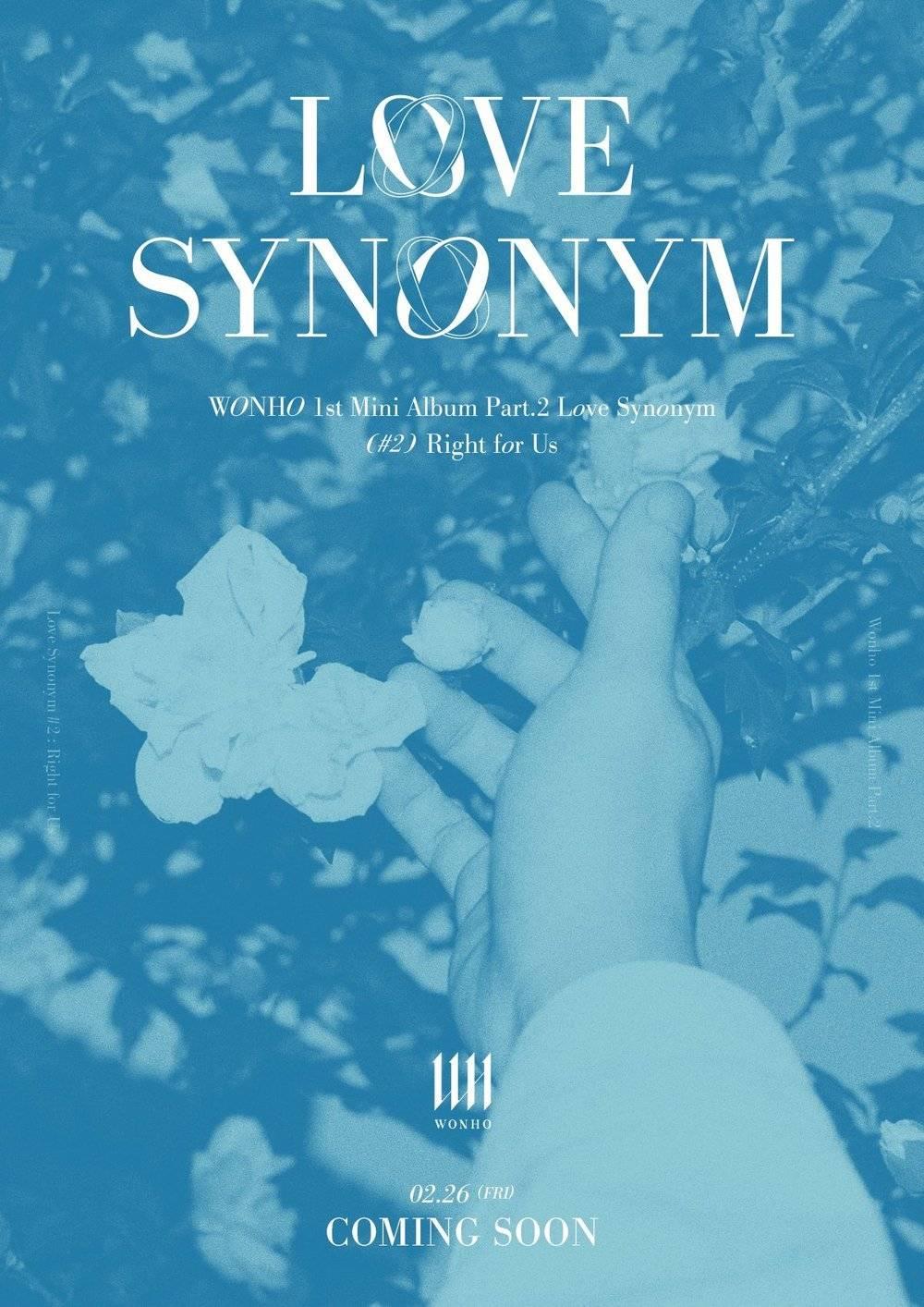 26일(금), 원호 미니 앨범 1집 'Love Synonym #2 : Right for Us' 발매   인스티즈