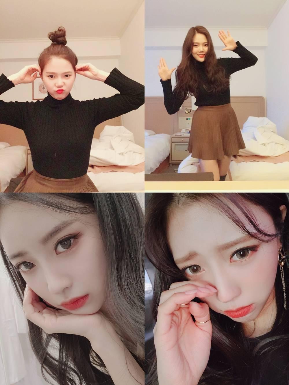 '폰클렌징' 러블리즈 미주·오마이걸 효정, 방송 최초 걸그룹 휴대폰 오픈   인스티즈
