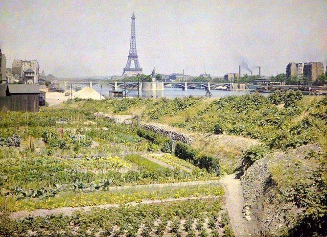 100여년 전 프랑스 파리의 컬러사진 | 인스티즈