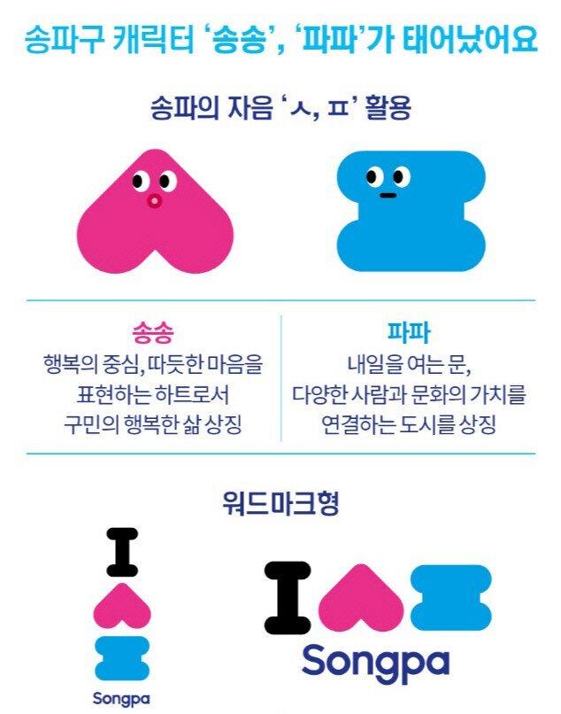 송파구 공식캐릭터 | 인스티즈