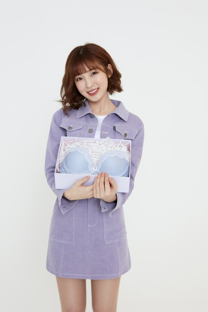 오마이걸 아린...BYC 브래지어 속옷 광고 화보.jpg | 인스티즈