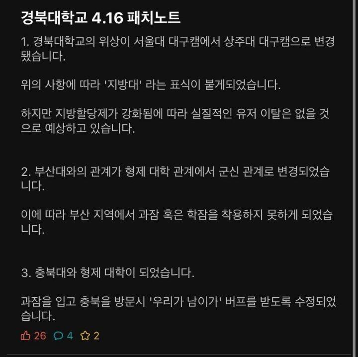 성적은 떨어졌지만 유쾌한 경북대학교.jpg   인스티즈