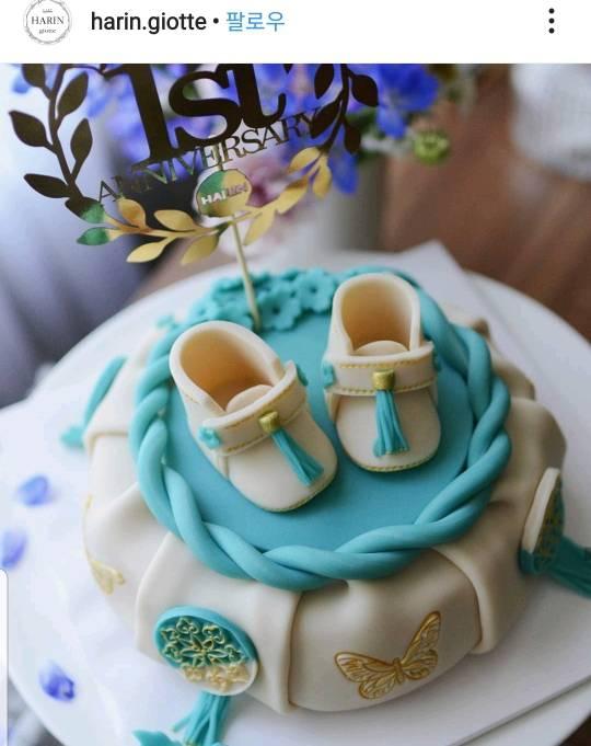 앙금케이크의 새로운 장르 앙금 보자기 케이크!! | 인스티즈