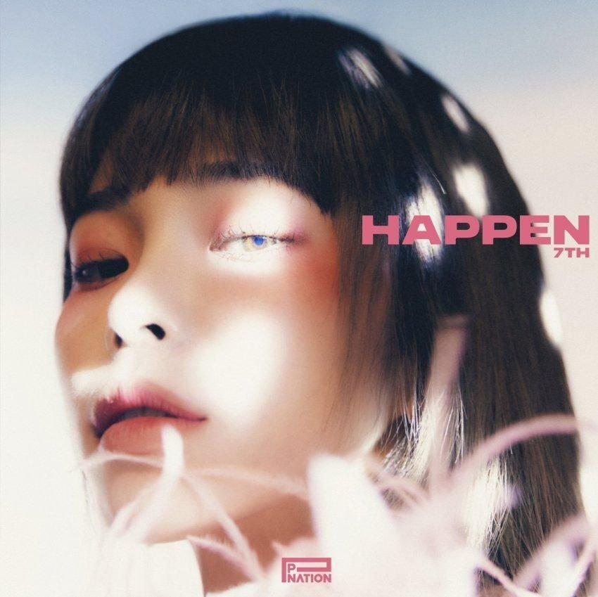 헤이즈 7TH EP [HAPPEN] Album Cover | 인스티즈