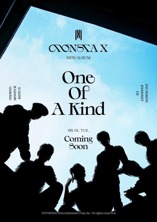 1일(화), 몬스타엑스(MONSTA X) 미니 앨범 9집 'One Of A Kind (타이틀 곡: GAMBLER)' 발매 | 인스티즈