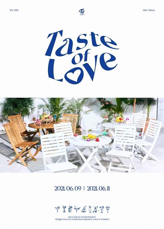 11일(금), 트와이스 미니 앨범 10집 'Taste of Love' 발매 | 인스티즈