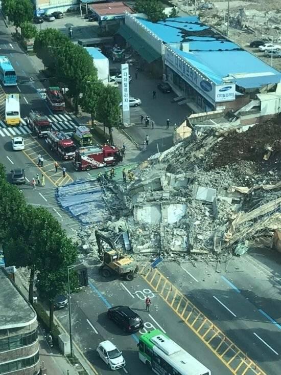 광주 건물 붕괴 범위.JPG | 인스티즈