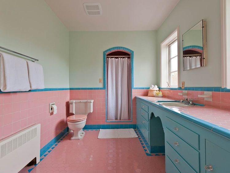 욕실 레트로 인테리어 | 인스티즈