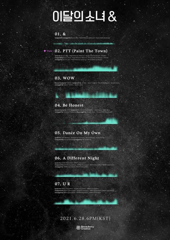 28일(월), 이달의소녀(LOONA) 미니 앨범 4집 '& (타이틀 곡: PTT (Paint The Town))' 발매 | 인스티즈
