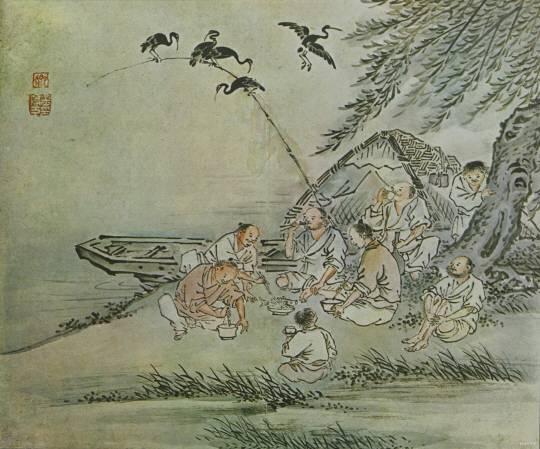 옛 조상(선비)님들 여름철 휴가 클라스 띠용.jpg | 인스티즈