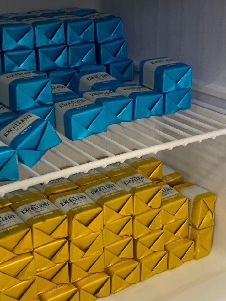 한국에서 보기 드문 대단한 갑부의 냉장고   인스티즈