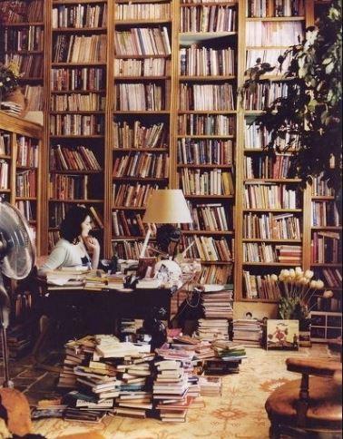 책 냄새 가득한 서재 인테리어 | 인스티즈