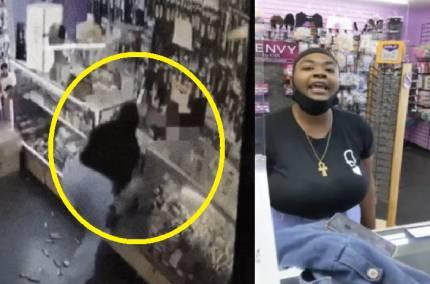 """[영상] """"잔액 부족입니다""""…흑인 여성, 한인 노부부 무차별 폭행   인스티즈"""