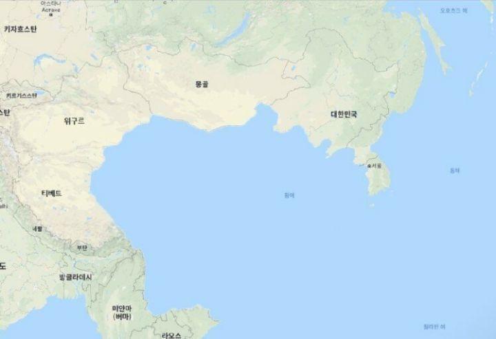중국이 사라진 지도.jpg   인스티즈