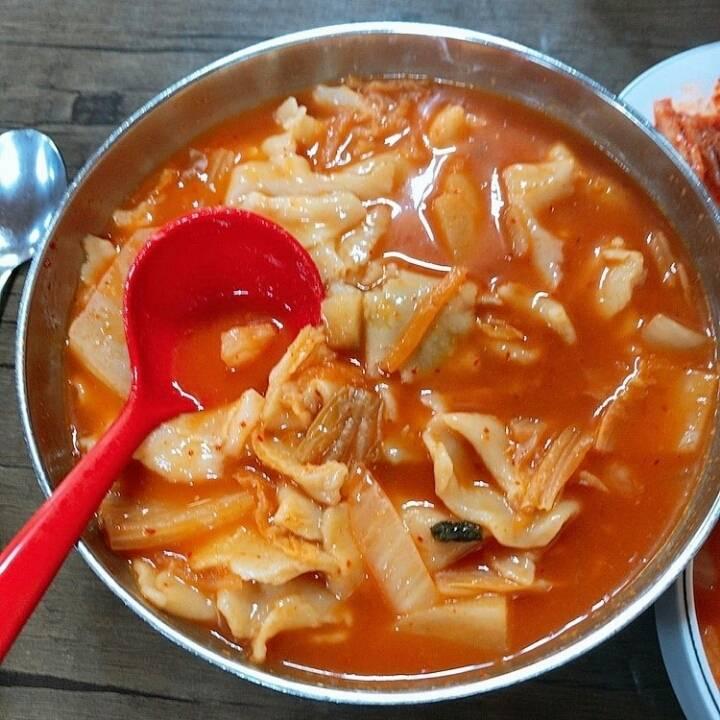 김치 수제비   인스티즈