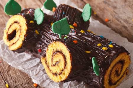 크리스마스에 먹는 통나무 케이크, 부쉬 드 노엘 | 인스티즈